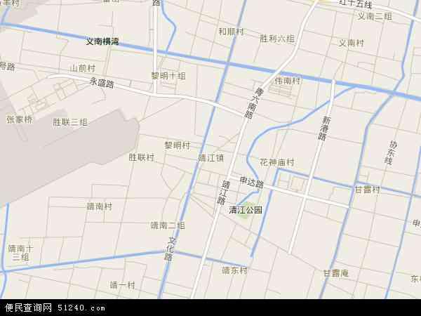靖江卫星地图