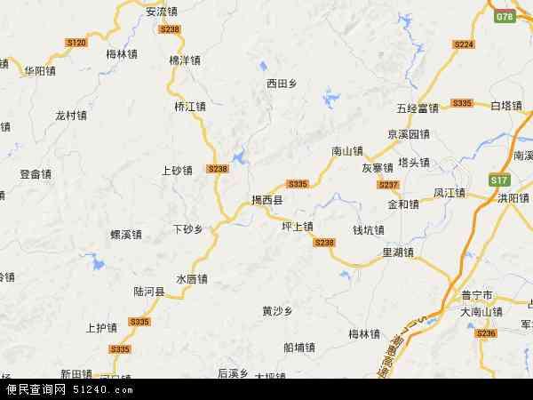 中国苗圃_揭西县地图 - 揭西县卫星地图 - 揭西县高清航拍地图