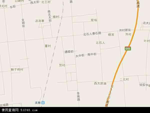 中国河南省洛阳市洛龙区李楼镇地图(卫星地图)图片