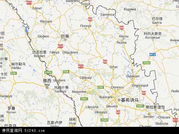 摩尔多瓦地图 - 摩尔多瓦电子地图 - 摩尔多瓦高清地图 - 2016年摩尔多瓦地图