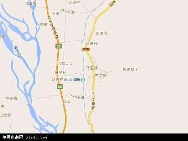马道镇地图 - 马道镇电子地图
