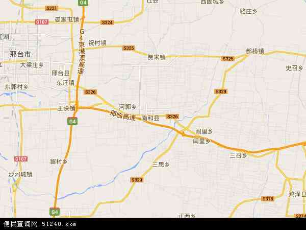 中国河北省邢台市南和县地图(卫星地图)