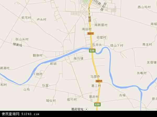 南马镇地图 - 南马镇电子地图