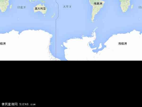 南极洲地图 - 南极洲电子地图 - 南极洲高清地图 - 2016年南极洲地图