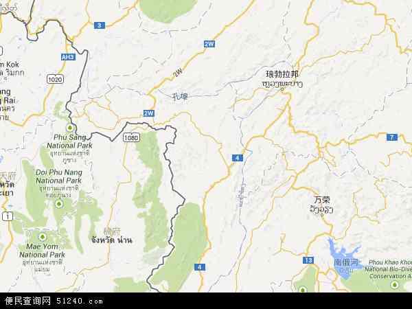 沙耶武里航拍照片,2016沙耶武里卫星地图,沙耶武里北斗卫星地图2017