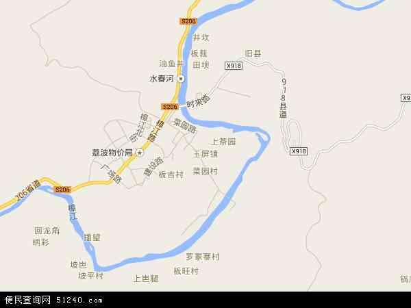 玉屏高清卫星地图 玉屏2017年卫星地图 中国贵州省黔南布依族苗族