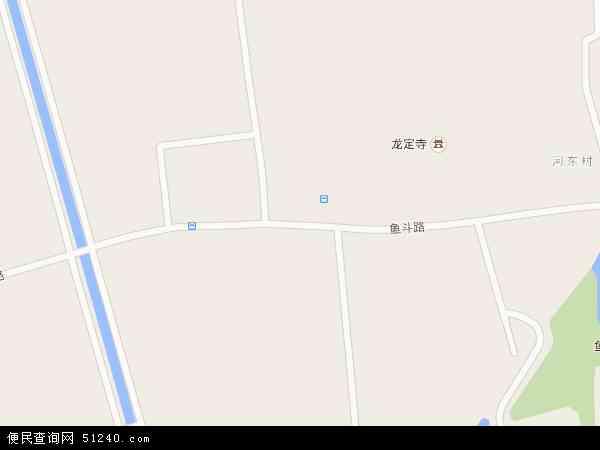 中国陕西省西安市雁塔区鱼化寨地图(卫星地图)