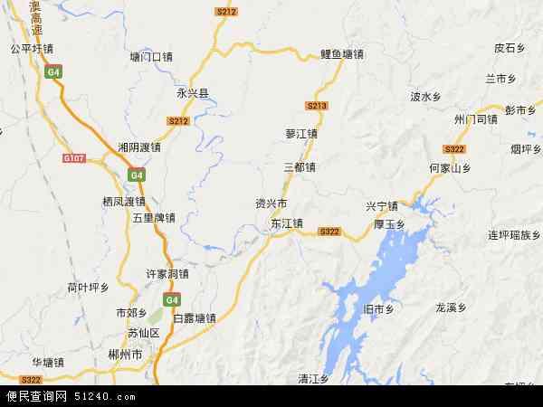 资兴市高清卫星地图 资兴市2018年卫星地图 中国湖南省郴州市资兴