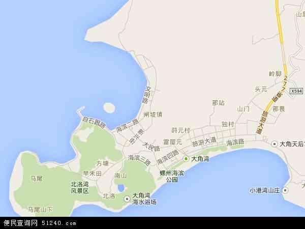 闸坡镇地图 闸坡镇卫星地图 闸坡镇高清航拍地图 闸坡镇高清卫星地图