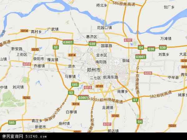 郑州市地图 - 郑州市卫星地图 - 郑州市高清航拍