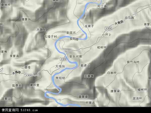 安乐河镇地图 安乐河镇卫星地图 安乐河镇高清航拍地图 安乐河镇高清