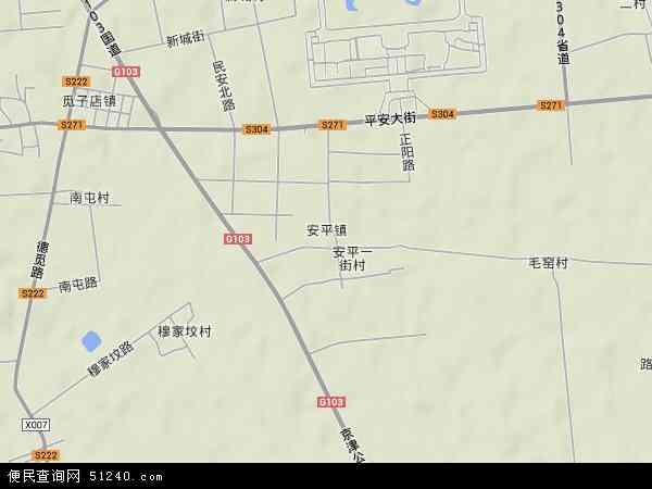 安平镇地图 - 安平镇卫星地图
