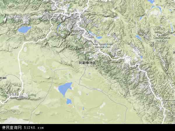 新疆阿勒泰地图_阿勒泰地区地图 - 阿勒泰地区卫星地图 - 阿勒泰地区高清航拍地图