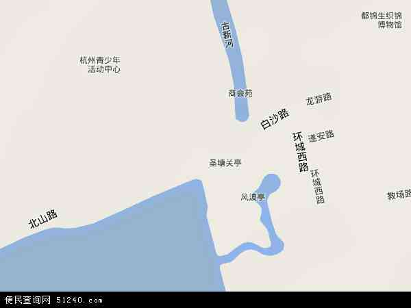 北山地图 - 北山卫星地图