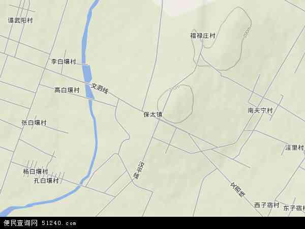 中国山东省临沂市平邑县保太镇地图(卫星地图)