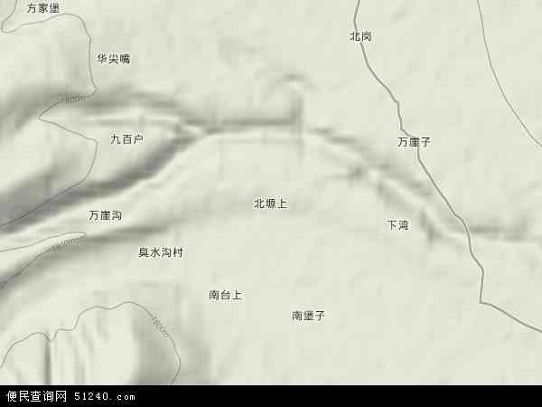 固原卫星地图街道实景展示