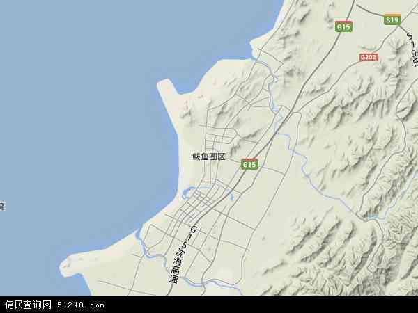 本站收录有:最新鲅鱼圈区地图