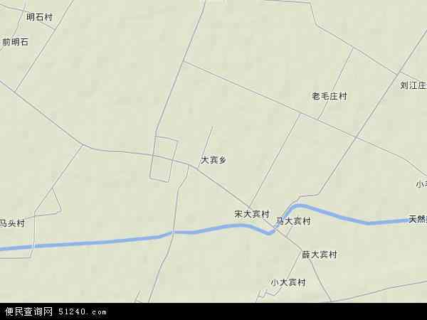 中国河南省新乡市原阳县大宾乡地图(卫星地图)