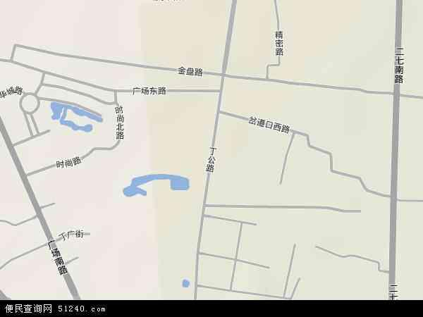 丁公路地图 - 丁公路卫星地图