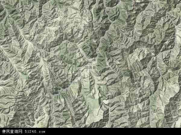 甘洛县地图 - 甘洛县卫星地图