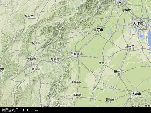 河北省地图 - 河北省卫星地图