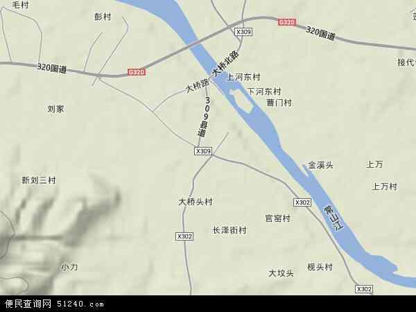 航埠镇地图 - 航埠镇卫星地图