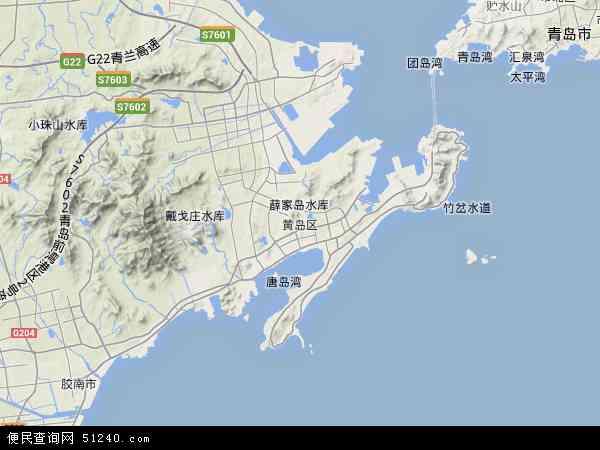 江南张家岙地图