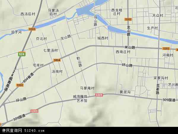 环山路地图 环山路卫星地图 环山路高清航拍地图 环山路高清卫星地图