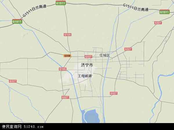 济宁市地图 济宁市卫星地图 济宁市高清航拍地图 济宁市高清卫星地图