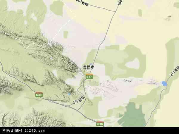 金川区地图 - 金川区卫星地图 - 金川区高清航拍地图