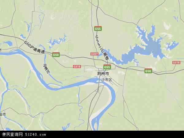 湖北荆州地图图片_湖北荆州地图图片下载