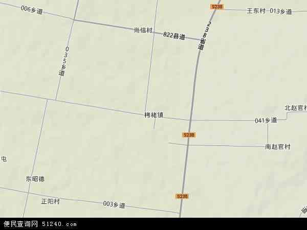 中国山西省运城市永济市栲栳镇地图(卫星地图)