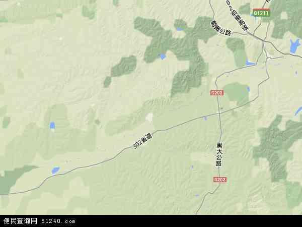 克山县地图 克山县卫星地图 克山县高清航拍地图 克山县高清卫星地图