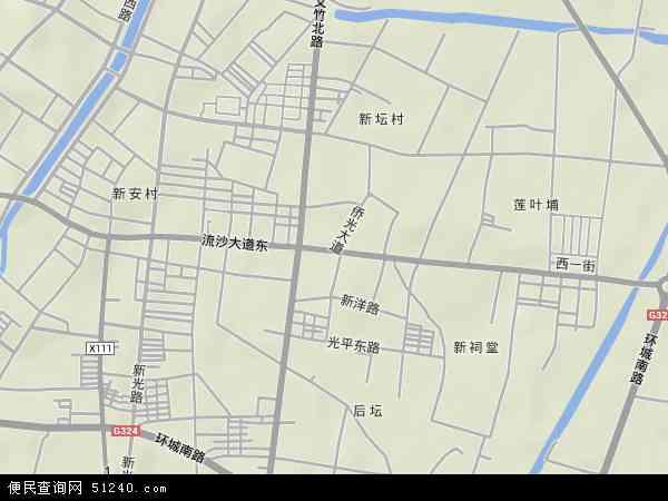 中国 广东省 揭阳市 普宁市 流沙东  本站收录有:2017流沙东卫星地图