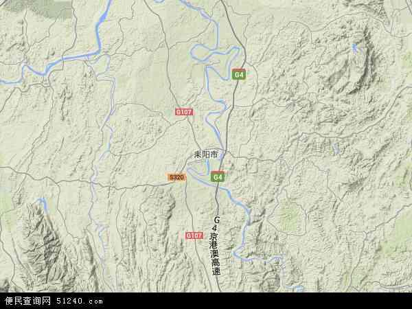 耒阳市地图 - 耒阳市卫星地图