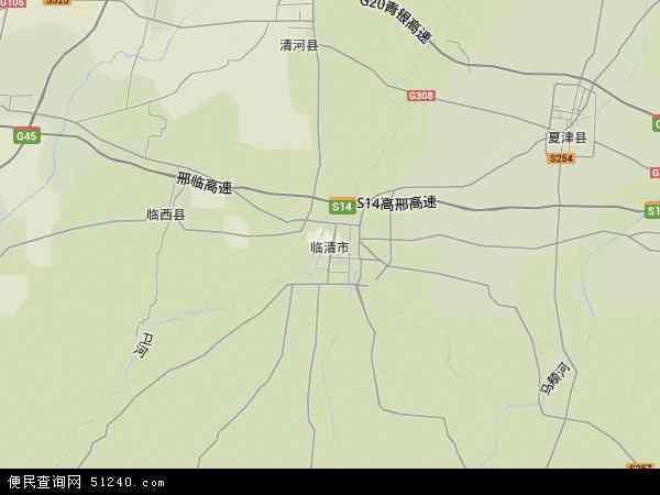 山东省临清市康庄镇_临清市地图 - 临清市卫星地图 - 临清市高清航拍地图