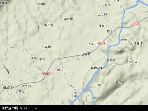 赖村镇地图 - 赖村镇卫星地图