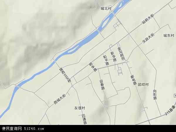 中国黑龙江省牡丹江市林口县林口镇地图(卫星地图)
