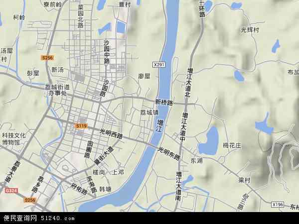 荔城地图 - 荔城卫星地图