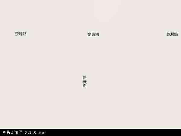 2013菱角湖卫星地图