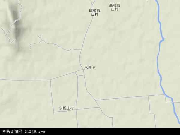 中国河北省秦皇岛市卢龙县木井镇地图(卫星地图)