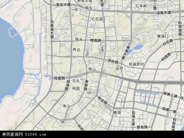 卫星南山图纸施工改变施工地图图片