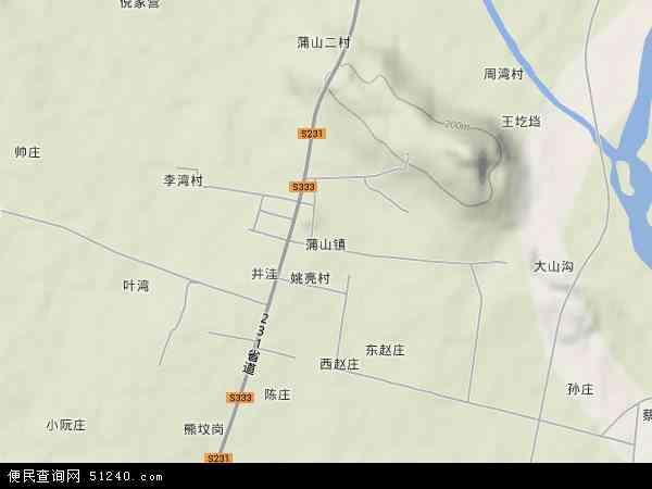 南阳市卧龙区地图