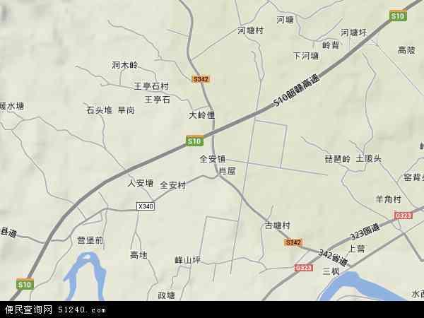 中國 廣東省 韶關市 南雄市 全安鎮  本站收錄有:2019全安鎮衛星地圖圖片