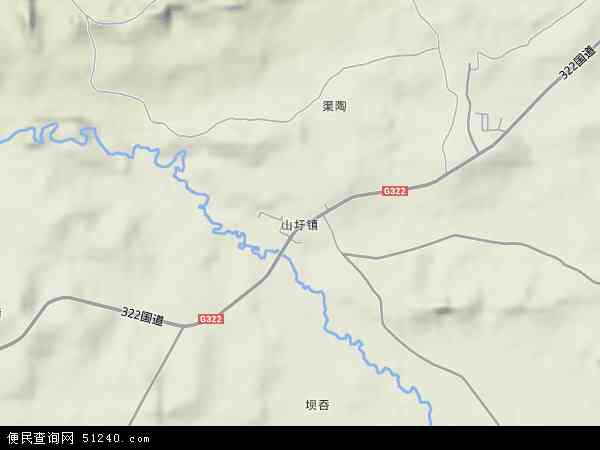 扶绥县山圩镇地图图片