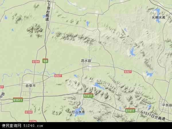 泗水县地图 泗水县卫星地图 泗水县高清航拍地图 泗水县高清卫星地图