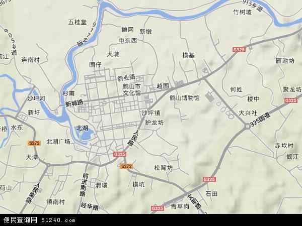 广东省江门市鹤山市沙坪至韶山有多少公里,开在大约要图片