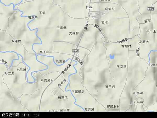 中国重庆市九龙坡区陶家镇地图(卫星地图)