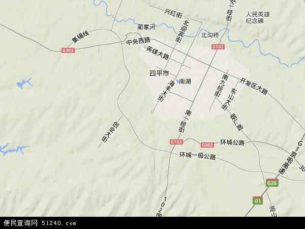 铁西区地图 - 铁西区卫星地图