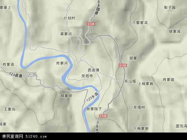 中国 四川省 广元市 剑阁县 武连镇  本站收录有:2017武连镇卫星地图